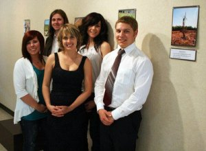 In 2011, the team from Fairview, AB hosted a public photography exhibit on energy in their community.